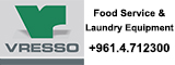 Vresso, Food Service & Laundry Equipment